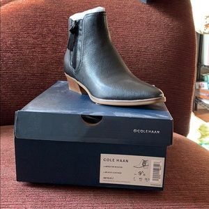 Cole Haan Leather Ankle Boot